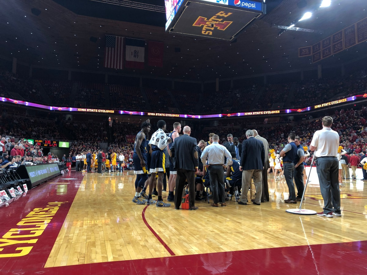 PODCAST: How to get stuck in the snow and receive a police escort to a basketballgame