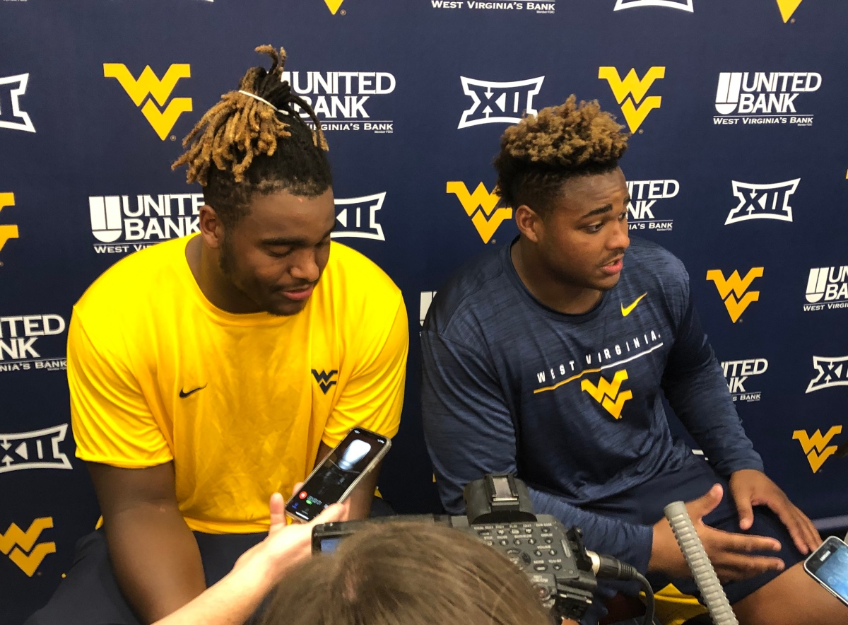 WVU's Darius and Dante Stills never have to look far formotivation